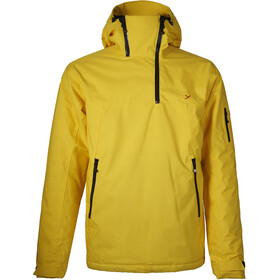 Y by Nordisk Ness Hardshell Down Anorak Men, lemo/blck